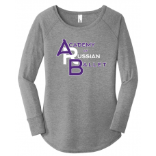 Acad of Russian Ballet 2019 Triblend Tunic Shirt