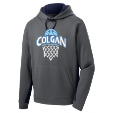 Colgan BB 2017-2018 Colorblock Performance Hoodie