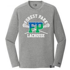 FP Lax 2018 Grey Lonsgleeve T-Shirt