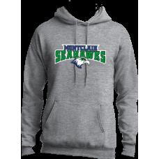 Montclair Seahawks 2018 Grey Hoodie