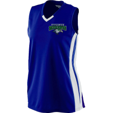 Montclair Seahawks 2018 Ladies Sleeveless V-Neck